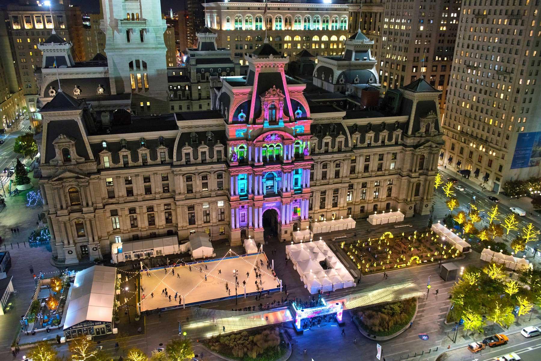 Deck the Halls – Philadelphia schmückt sich für Weihnachten