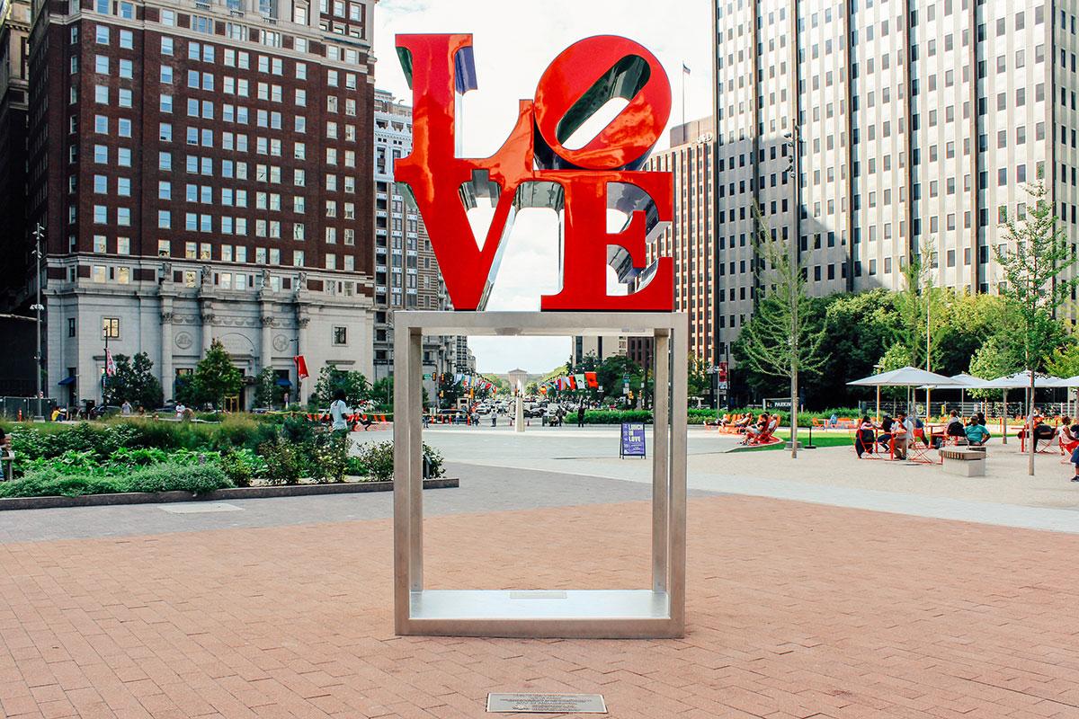 Zeit zu zweit – und ganz viel LOVE: Philadelphia für Romantiker