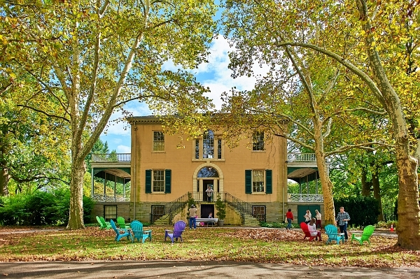 Lemon Hill Mansion Stone and Key Cellars pouring cider and Haymaker Meadery pouring mead; The Carryons performing Mediterranean Jazz for Fairmount Park Conservancy September 29, 2017